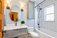 In Need of Ceramic Tile Bathroom Ideas? Here Are 11 Great Options