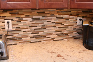 How Glass Tile Backsplashes can improve the decor of your home