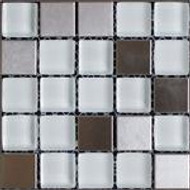 Glass and Metal Tiles Design Ideas