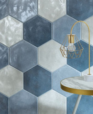 Creating Dynamic Interiors With Hexagon Tiles Belk Tile