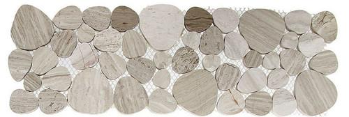 Bella Glass Tiles Holy Trail HTL-1480 marble listello Nahal Yarkon
