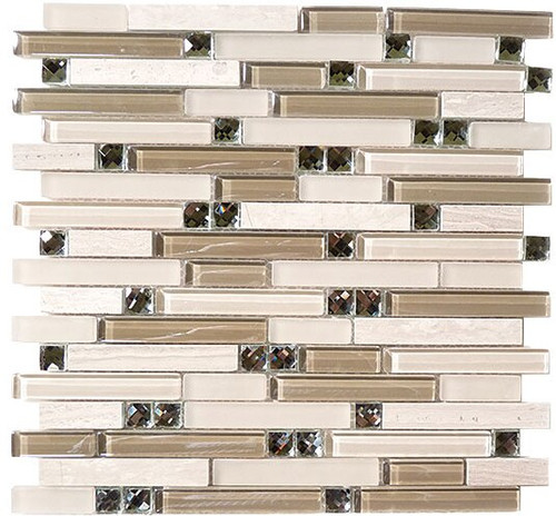 Bella Glass Tiles Symphony Series Grey Tranquility