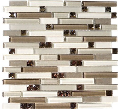 Bella Glass Tiles Symphony Series Calm Grey