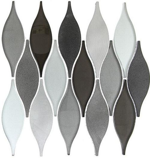 Bella Glass Tiles Chandelier Series Velvet Truffle CHS214