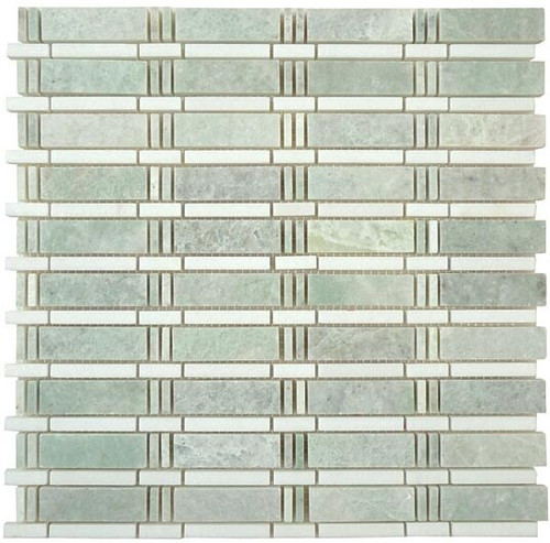Bella Glass Tiles Skyline Series Marble Mosaic SL82
