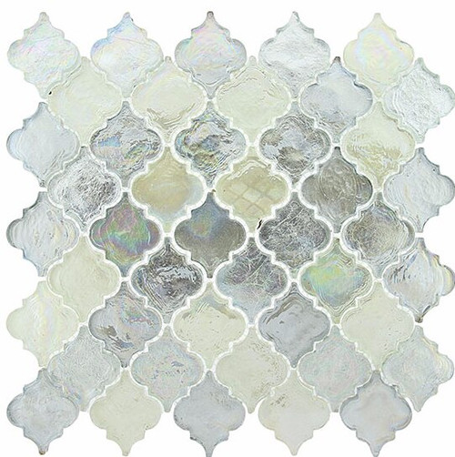Bella Glass Tiles Dentelle Series April Shower Glass Mosaic