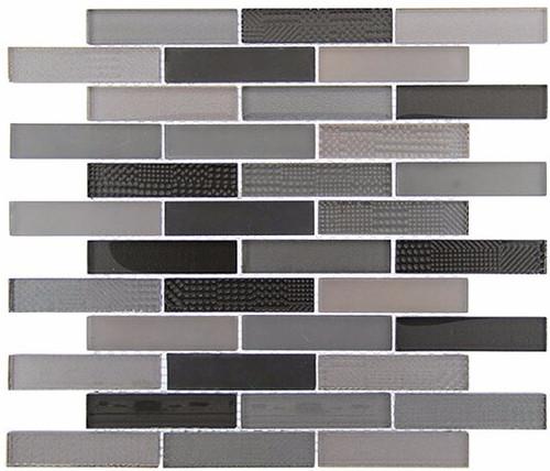 Bella Glass Tiles Grand Turret Grey Truth