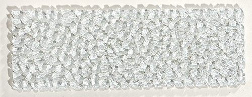 Bella Glass Tiles Glacier Series Raindrop Listello