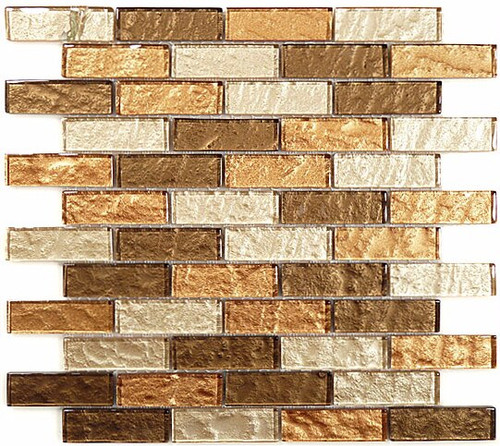 Bella Glass Tiles Impression Series Toffee Latte
