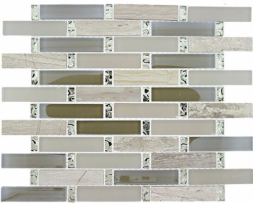 Bella Glass Tiles Interlace Series Milestone