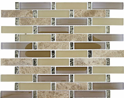 Bella Glass Tiles Interlace Series Promenade