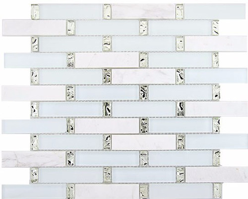 Bella Glass Tiles Interlace Series Ice Basket