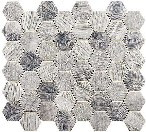 Bella Glass Tiles Woodland Series Tawny Oak