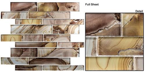 Bella Glass Tiles Magical Forest Buttercup Patch Glass Tiles