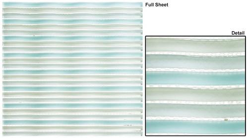 Bella Glass Tiles Rolling Surf San Tropez Glass Mosaic Tile