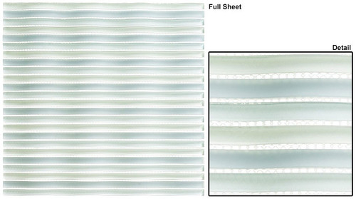 Bella Glass Tiles Rolling Surf Dolphin Bay Glass Mosaic Tile