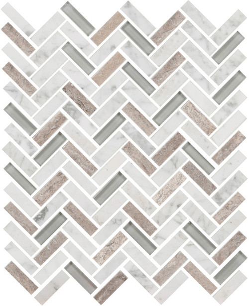 UBC Imagination Collection Whitetail Herringbone Tiles