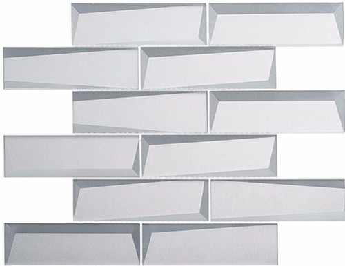 Bella Glass Tiles Scandinavia Norwegian Winter Subway Tile