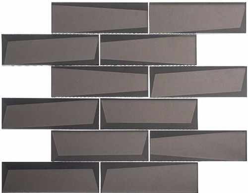 Bella Glass Tiles Scandinavia Swedish Castle Subway Tile