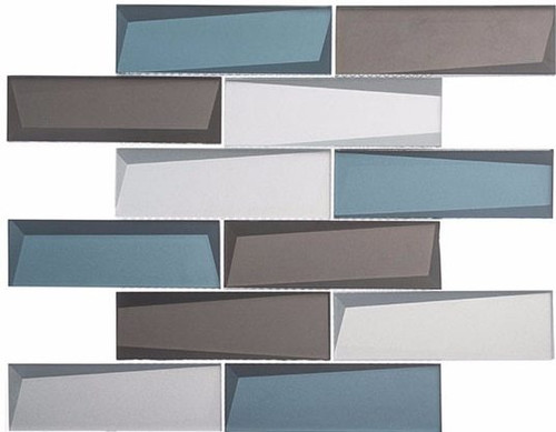 Bella Glass Tiles Scandinavia Northern Lights Subway Tile