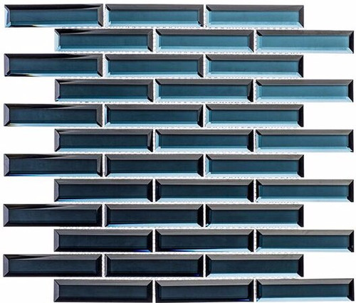 Bella Glass Tiles Mystique Aruba Sparkle 1 x 4