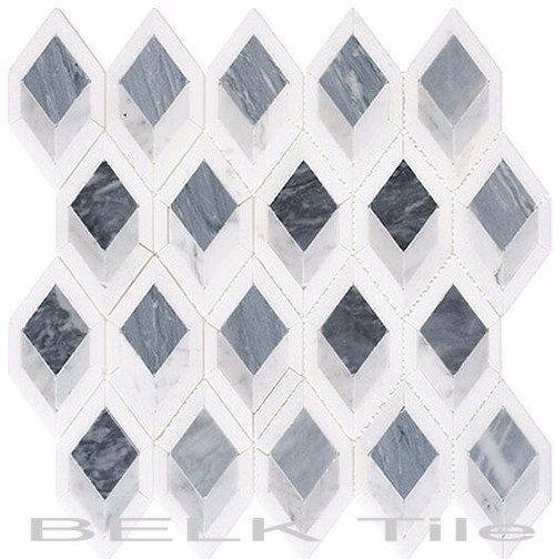 Bella Glass Tiles Ashbury Series Cobolt Avenue