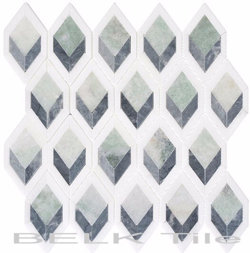 Bella Glass Tiles Ashbury Series Cornflower Way