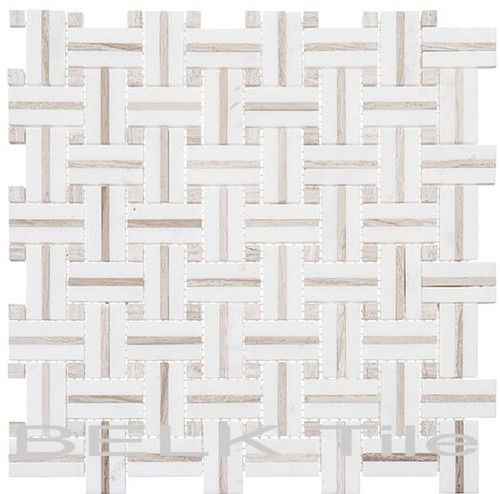 Bella Glass Tiles Ultra Weave Series Kalahari Dunes