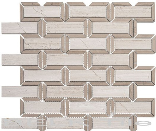 Bella Glass Tiles Colosseum Series Caesar Beige