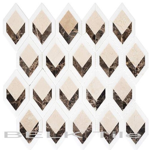 Bella Glass Tiles Ashbury Series Country Villa