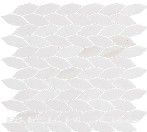 Bella Glass Tiles Colonial Series Long Hex Light Canopy CLNL-286