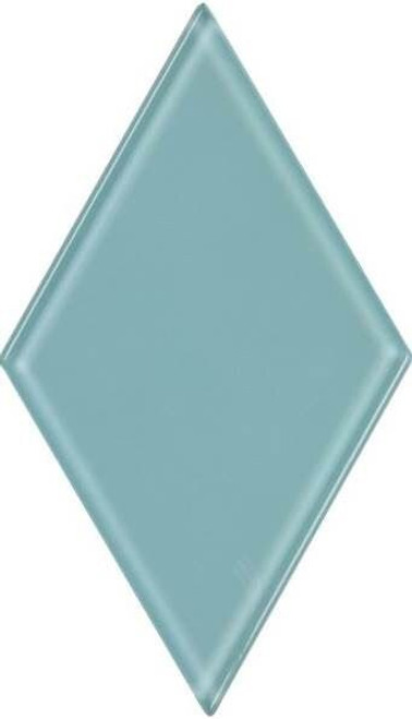 UBC 4.5 inch Glass Diamond Tile Sky Blue