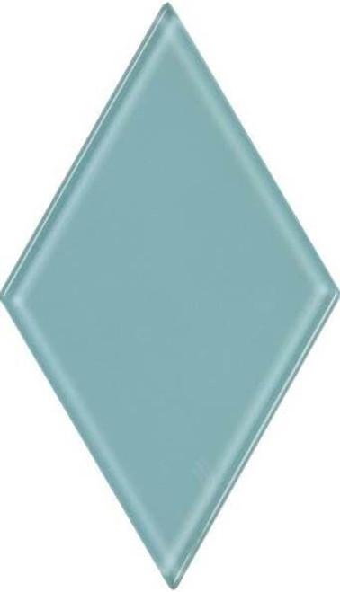 UBC 4.5 inch Glass Diamond Tile Sky Blue