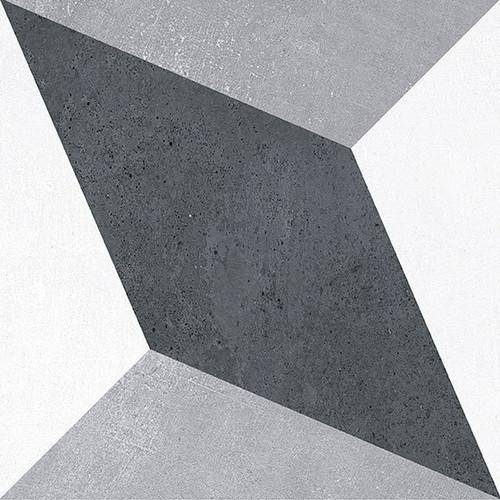 Bella Glass Tiles Retro Nueve Zero Gravity Encaustic Look