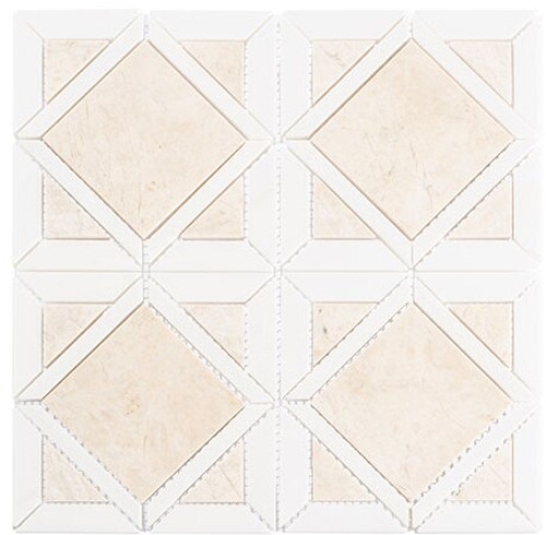 Bella Glass Tiles Wright Windows Series WRW-104 Dusk Warmth