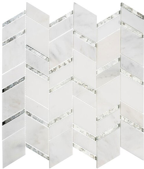 Bella Glass Tiles Urban Butterflies Inner Dawn Stone Mosaic