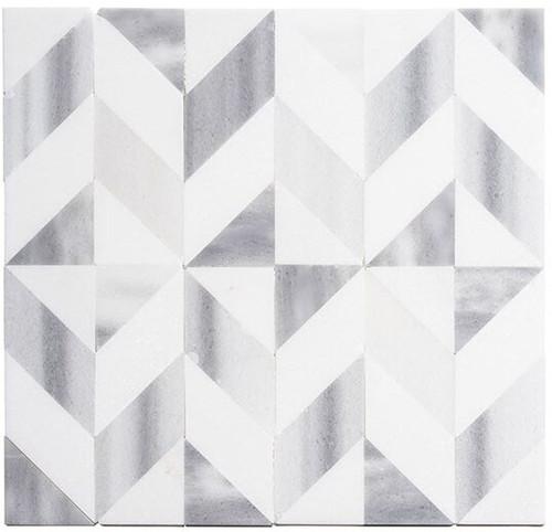 Bella Glass Tiles Picassa Venus Cube marble mosaic tile