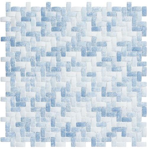 Bella Glass Tiles Summer Outing Denim Wash SMO-324