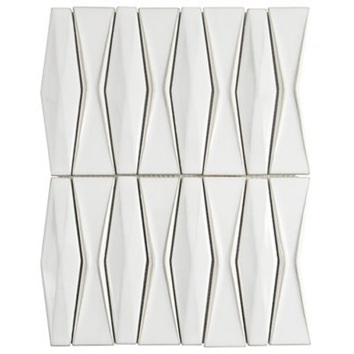 Soho Studio Baroque Adwick Natural Ceramic Tile Mosaic