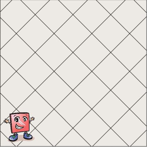 BELK Tile Patterns Diamond Grid Floor Tile Pattern