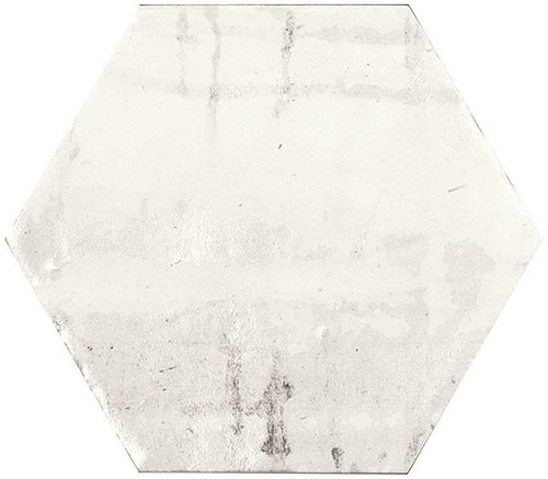 Bella Glass Tiles Princeton Glaze Hexagon Linen Fresh