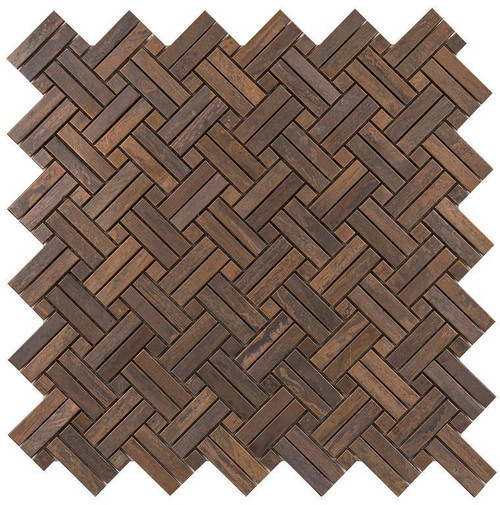 UBC Antique Copper Tile Backsplash 2By Mosaic