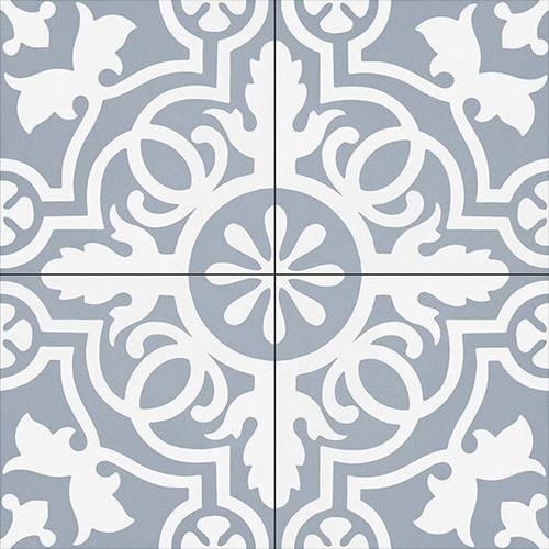Bella Glass Tiles Amalfi Coast Porcelain Tile Teal Doily