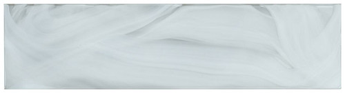 Bella Glass Tiles Elegant Swirl ELS635 Porcelain Cloud