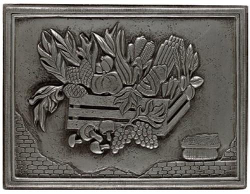 My Tile Backsplash Silver Crops Plaque