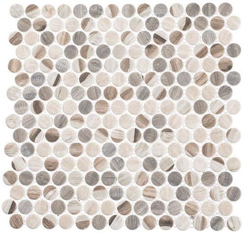 Bella Glass Tiles Pixels Series PX784 Dotted Blend