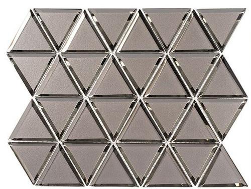 Bella Glass Tiles Pinwheel Series PWL813 Ever White