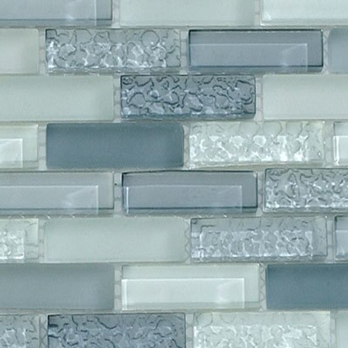 Bella Glass Tiles Bella Glass Tiles CB52 Passion Blue Blend