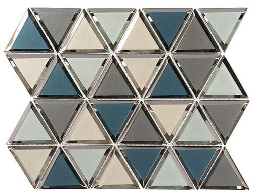 Bella Glass Tiles Pinwheel Series PWL818 Carnival Spin