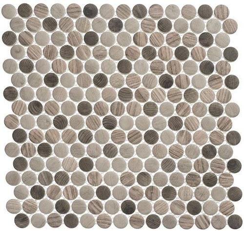 Bella Glass Tiles Polka Dots PLK63 Southern Trail